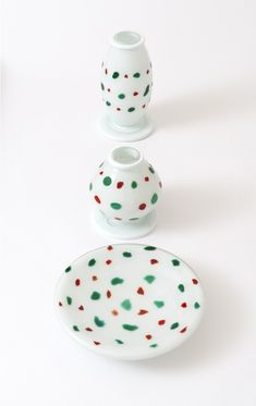 Ettore Sottsass, Orsete vases and dishes @artsy