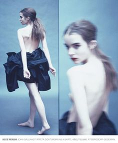 Ali Michael photographed by Paolo Roversi - New York Time Style: Holiday 2007 - Gallerina