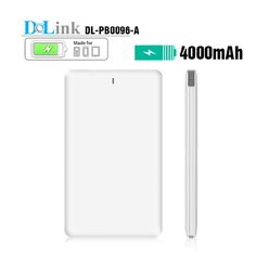 Wholesale QC Custom CE ROHS Mini Slim Portable 4000mAh Power Bank Charger,Mobile Smart Phone Usb Cable Backup Power