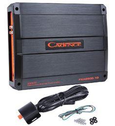 Save $ 175 order now Cadence FXA2500.1D 2500 Watt Mono Block Class D Car Audio A