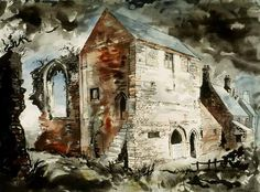 John Piper and the Church, Beauvale Priory, Newthorpe, Nottinghamshire, 1964
