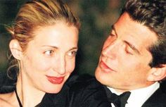 John and Carolyn Kennedy Wedding | Carolyn Bessette and John Kennedy's flight into eternity ...