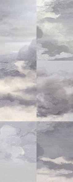"""Dusk Violet papier peint par Little Owl """"Dutch Sky"""" Wallpaper. Sky Quote, Textures Patterns, Print Patterns, Arte Yin Yang, Doodle Drawing, Into The Wild, Instalation Art, Art Graphique, Painting Inspiration"""