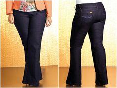 📢 LIQUIDAÇÃO ✂️ DE OUTONO 🍂 Calça flare jeans Plus Size. De R$ 139 por R$ 109
