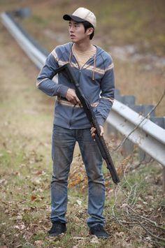 The Walking Dead. Steven Yeun