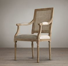 French Square Cane Back Armchair: http://www.stylemepretty.com/living/2015/03/03/ultimate-dining-chair-roundup/