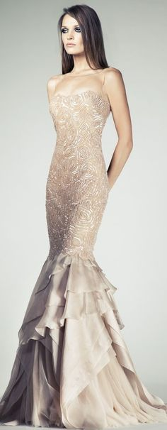 Tony Ward Couture SS 2014. LBV ♡Pinterest: yarenak67