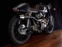 Honda CB450 Cafe Racer by Tentacle Paradox #motorcycles #caferacer #motos | caferacerpasion.com