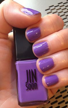 Jin Soon Voile nail polish -- perfect for spring!