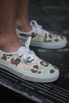 BAPE X VANS. #sneakers