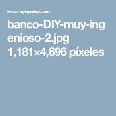 Diy, Benches, Crafts, Bricolage, Do It Yourself, Fai Da Te, Diys