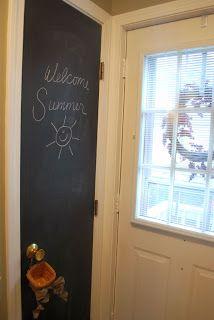 The Shabby Nest: Hooray for chalkboard paint!