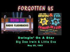 ▶ Big Dee Irwin & Little Eva - Swingin' On A Star - 1963 - YouTube