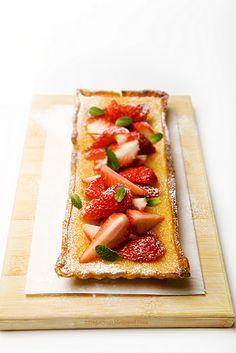 lemon strawberry tart- translation needed- use Google Chrome