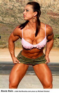 rain bodybuilder Roxie