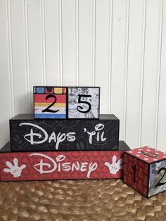 Hey, I found this really awesome Etsy listing at https://www.etsy.com/listing/266007054/disney-vacation-countdown-blocks-three