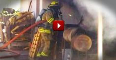 How This Man Escaped His Burning Home Untouched Is A MIRACLE. And Who Got Him Out Is Even Better!