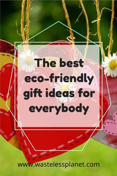 The best eco-friendly gift ideas for all occasions and people listed in one place. It's the ultimate gift guide if you want to consume less or buy green only. #giftguide #WastelessPlanet