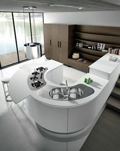 32 best solutions for contemporary kitchen decoration 18