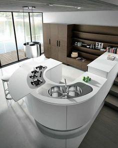round kitchen | My future House | Pinterest | Minimalist design ...