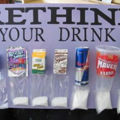 Rethink Your Drink Kids Science Project