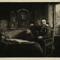Rembrandt Harmensz. van Rijn (1606-1669): Portret van de apotheker Abraham Francen ( B 273 ), 1657.