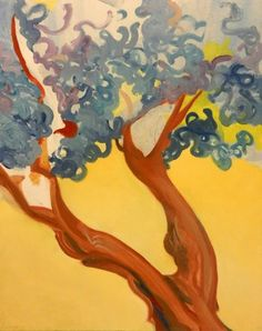 Tree by Elizabeth Kirchhoff, oil on canvas, 2006; eBay, $50.00