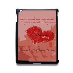 Valentine TATUM-11598 Apple Phonecase Cover For Ipad 2/3/4, Ipad Mini 2/3/4, Ipad Air, Ipad Air 2