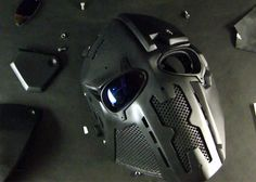 DEVTAC Ronin Mask. Follow us! - http://starshipseraphm.blogspot.com/p/home.html