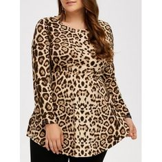 SHARE & Get it FREE | Plus Size Asymmetric Hem Leopard T-ShirtFor Fashion Lovers only:80,000+ Items·FREE SHIPPING Join Dresslily: Get YOUR $50 NOW!