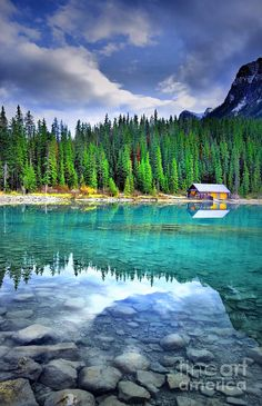 Lake Louise, Alberta Canada. This offers year round activities for the outdoorsman in all of us. Hike, bike, canoe, ski, skate, and explore your way through the seasons.