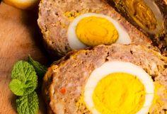 Mäsová roláda s vajíčkom Meatloaf, Food And Drink, Eggs, Fresh, Breakfast, Morning Coffee, Egg, Morning Breakfast