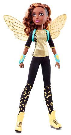 dc superhero girls bumblebee doll - Google Search