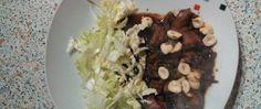 Recept Salát s kuřecími játry Oatmeal, Beef, Breakfast, Food, Author, The Oatmeal, Meat, Morning Coffee, Rolled Oats
