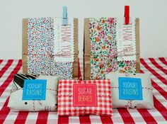 Embalagens criativas, baratas e fofinhas!!