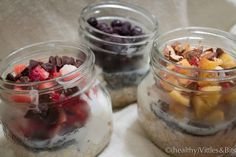 Overnight Oats, (healthy)Vittles&Bits