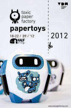 Exhibition papertoys