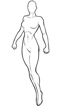 Female Superhero Template <b>female</b>-standing  heromachine character portrait creator