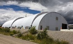 The Los Alamos National Laboratory, where the clean-up of the Manhattan Project happens inside of a Quonset building.