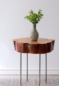 Tutorial: Gorgeous Tree Slice Side Table