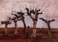van gogh trees drawing - Google Search