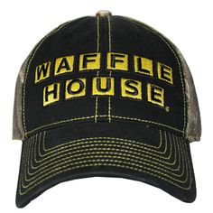 Gotta have a Waffle House hat! Cole needs this! Waffle House, Country Girls, Jeans And Boots, Camo, Baseball Hats, House Rules, Pj, My Style, Waffles