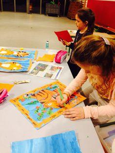 Rousseau tiger art Education Andrea Budé