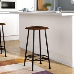 Kitchen industrial look bar stools 15 trendy ideas Counter Height Bar Stools, 30 Bar Stools, Swivel Bar Stools, Kitchen Stools, Home Decor Kitchen, New Kitchen, Kitchen Tips, Saddle Seat Bar Stool, Kitchen Island Lighting Modern