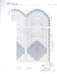 Gallery.ru / Фото #6 - Elegant Floral Crochet Lace Doily Table Cloth - igoda