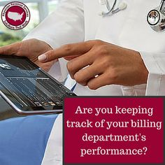 Physician Revenue Services is here to help you keep track of your billing department's performance!