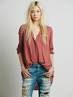 CP Shades Check Plaid Shirt at Free People Clothing Boutique