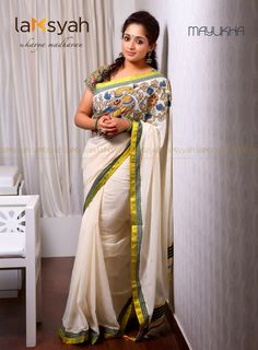 Laksyah by Kavya Madhavan Onam Collection - Mayukha