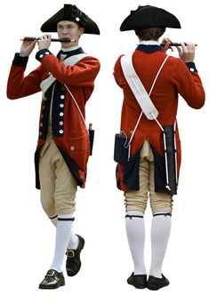 Anatomy of the  Red Regimental Uniform