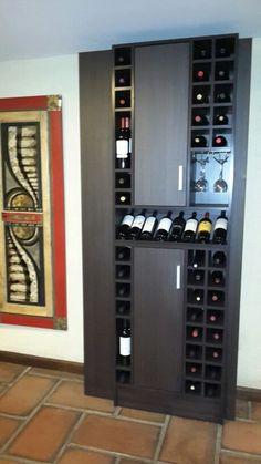 Bodeguita mueble para vinos